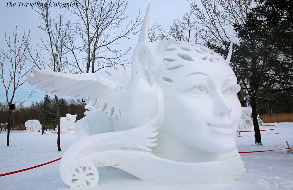 Harbin Schnee- und Eisfestival Schneeskulpturen auf der Sonneninsel Harbin Heilongjiang China ASIEN