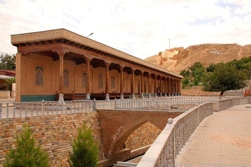 Nurata-Kysylkum-Usbekistan-Chashmakomplex-Festung-Alexander-des-Großen