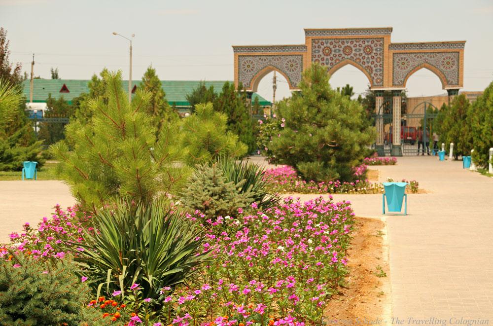 Nurata-Kysylkum-Usbekistan-Chashma-Komplex-Gartenanlage