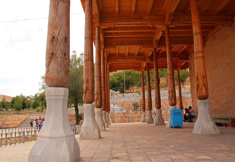 Nurata-Kysylkum-Usbekistan-Khamom-Säulen