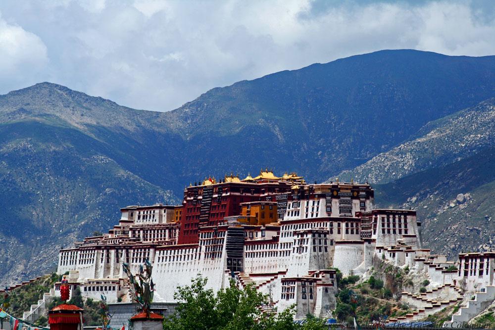 Potala-Palast Lhasa Tibet ASIEN Perfekter Reisetag