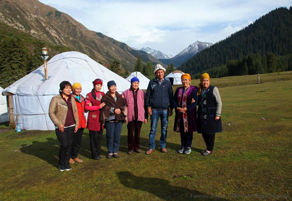 Yurts Jeti-Oguz Kyrgyzstan Central Asia ASIA