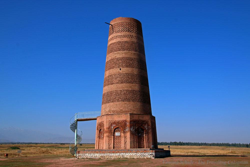 Burana Tower Kyrgyzstan Central Asia ASIA