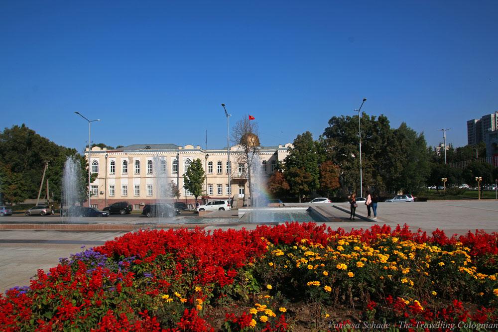 Ala-Too-Platz Bischkek Kirgistan Zentralasien ASIEN