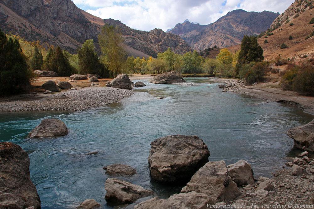 Landschaft Fann-Gebirge Tadschikistan Zentralasien ASIEN