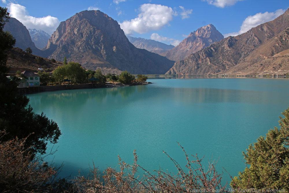 Iskanderkul Lake Tajikistan Central Asia ASIEN