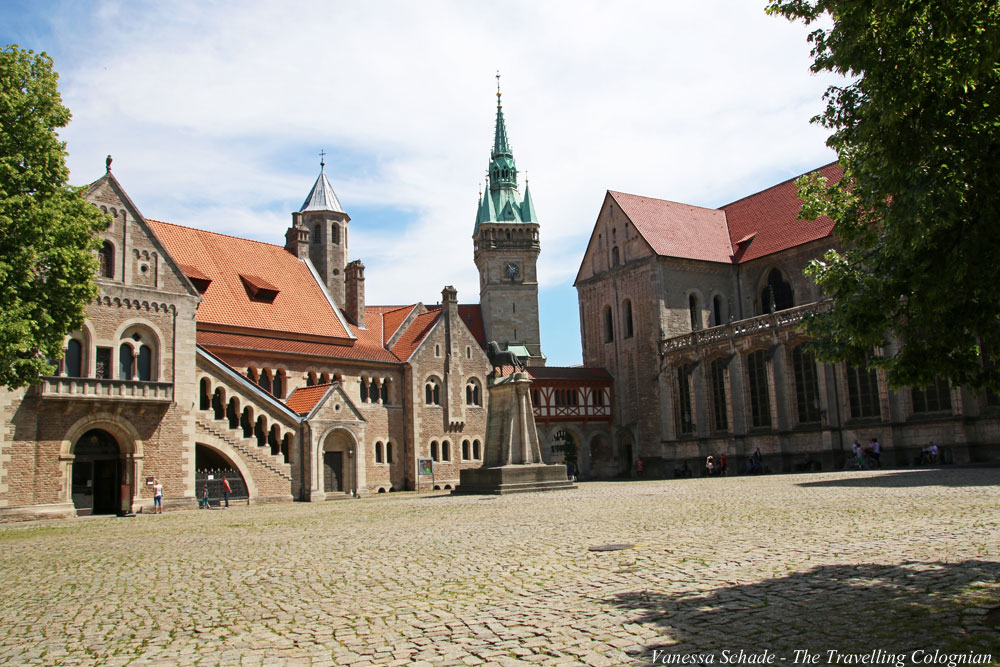 Castle Square Brunswick Lower Saxony Germany EUROPE