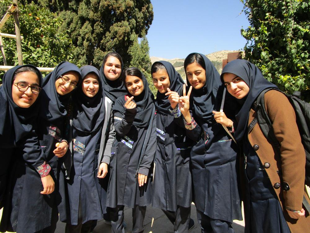 Einheimische Frauen Shiraz Iran NAHER OSTEN PERSISCHER GOLF