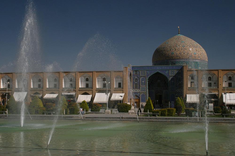 Maidan-e Imam Isfahan Iran NAHER OSTEN PERSISCHER GOLF