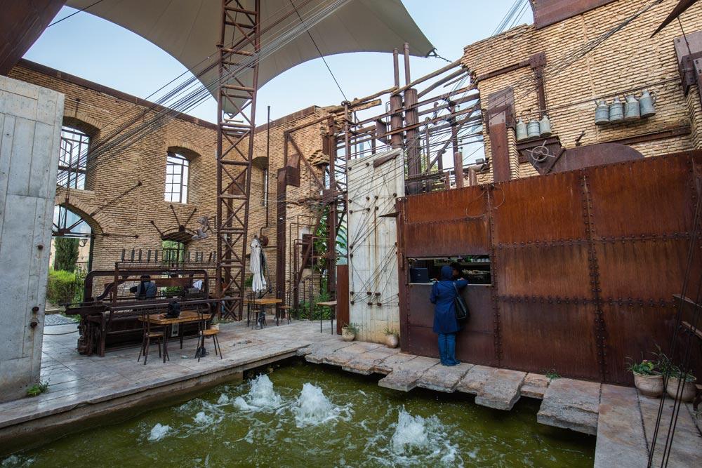 Café Shiraz Iran NAHER OSTEN PERSISCHER GOLF