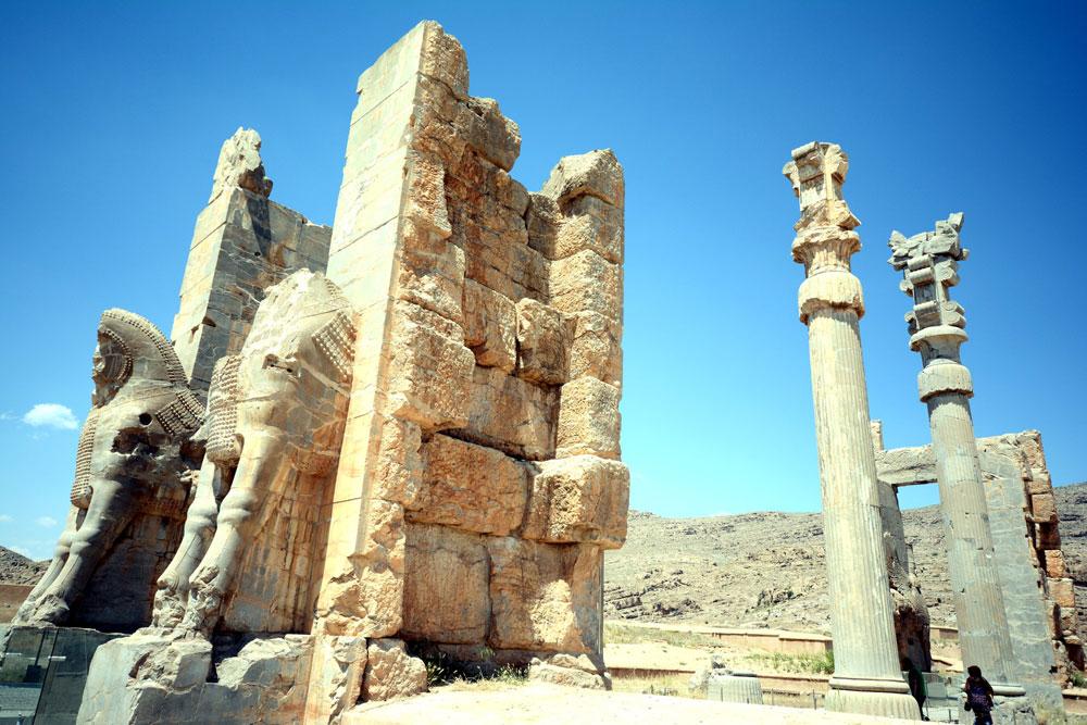 Persepolis Iran NAHER OSTEN PERSISCHER GOLF