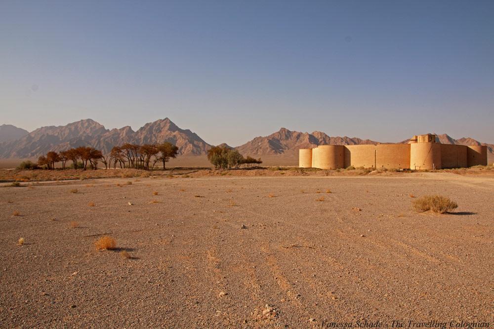 Karawanserai Zein-o-Din Wüste Lut Iran NAHER OSTEN