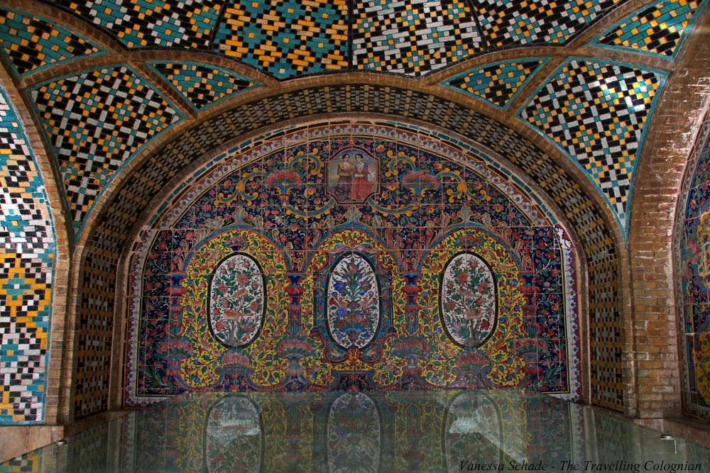 Fliesenverzierungen Golestan-Palast Teheran Iran NAHER OSTEN ORIENT